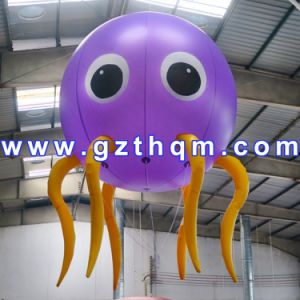 Inflatable Balloon Advertising for Promotional/0.55mm PVC Inflatable Floating Advertising Balloon pictures & photos