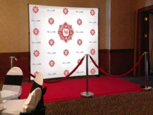 Backdrops on Pinterest Vinyl Backdrop Red Carpets and Events Fabric Wrap pictures & photos