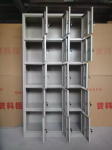Steel Storage Lockers with 15 Doors