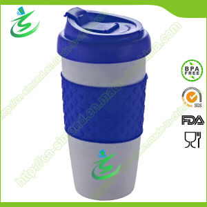 16 Oz PP Material Coffee Cup with Customized Logo