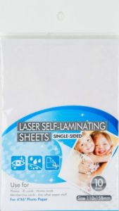 Laser Self-Laminating Sheets pictures & photos
