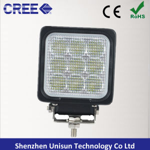 New 4inch 27W 9X3w CREE LED Machine Work Lamps