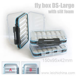 Slit Foam Waterproof Large Wholesale Fly Fishing Box pictures & photos