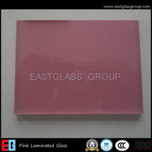 Pink/ Laminated /Building Glass