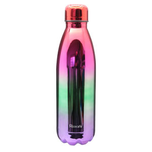 Colorful Stainless Steel Vacuum Water Bottle- Sliver, Gold Rose, Copper, Galaxy, Black