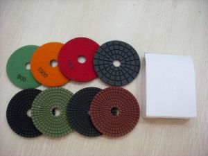 Flexible Diamond Polishing Pads