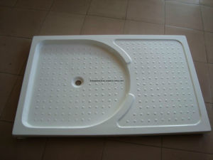 Rectangle Acrylic Shower Plate with Fiberglass Resin Reinforced pictures & photos