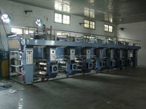 Computerized Rotogravure Printing Machine for Paper, Nonwovn, Aluminum Foil
