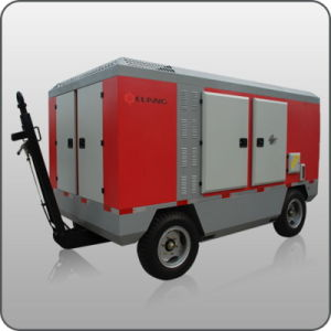 75kw Cummins Diesel Portable Screw Air Compressor (ERC-100SALCY)