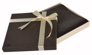 High Quality Elegant Brown Colour Paper Gift Box (YY--B0281) pictures & photos