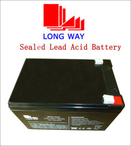12V12ah Wheelchair Deep Cycles Lead Acid Battery pictures & photos