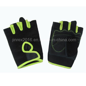 Bicycle Half Finger Cycling Padding with Buckle Bike Sports Glove pictures & photos