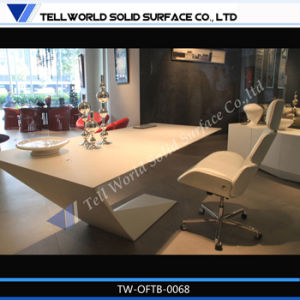 Modern White Office Table, Manager Office Table pictures & photos