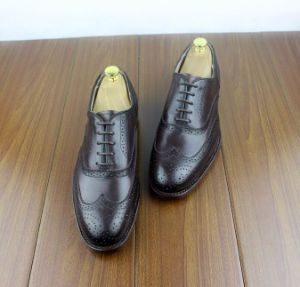 China Best Formal Dress Shoes For Men Goodyear Handmade Oxford