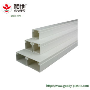 Underground PVC Cable Protection Pipe Wiring Accessory Trunking In Fire  Control Zone