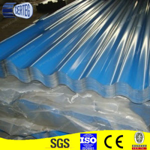 Blue Coated Galvanized Steel Corrugated Roof Sheet pictures & photos