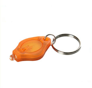 Fashion OEM Plastic LED Keychain pictures & photos