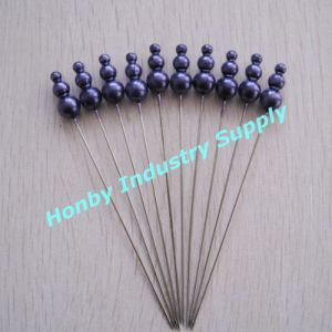 Extra Long 93mm Triple Shape Plastic Head Straight Pins for Christmas Decoration (P160801A)