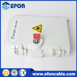 FTTH Terminal Box 8 Cores/Adaptor/PLC Splitter pictures & photos