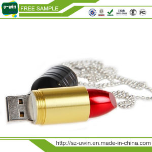 Metal Lipstick USB Flash Memory, USB Flash Disk 16GB pictures & photos