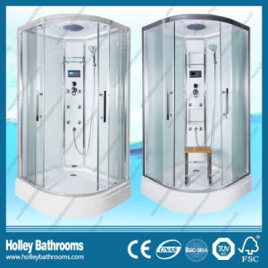 Hot Selling Computerized Shower Enclosure with Double Roller Wheel Sliding Door (SR213W)