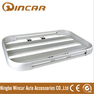 Aluminum Roof Luggage Rack for All Models Vehicle (W0702)