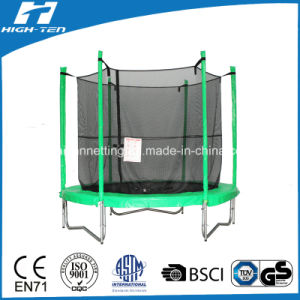 Green Color Round Big Trampoline