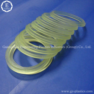 Good Lubrication and Insulation PU CPU Rubber Injection Parts pictures & photos