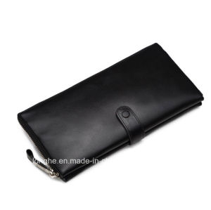 Customize OEM Business Hand Purse Men Long Hand Purse (ZX10195) pictures & photos