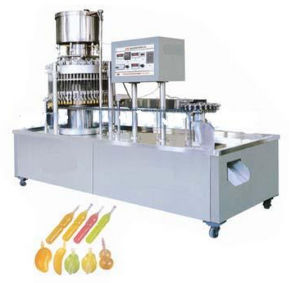 Ice Lolly Tube Bottle Pop Calippo Tube Doypack Filling Packing Sealing Machine
