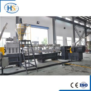 Double Screw Plastic Compounding Extruder for PVC Granulation