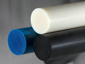 Nylon Rod, Nylon Rods, PA6 Rods with White, Blue Color pictures & photos