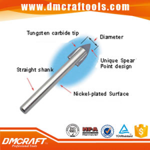 Chrome Coated Glass Carbide Tip Drill Bit pictures & photos