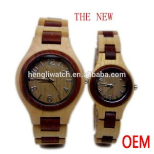Hot Sale Wooden Band and Wooden Watch, Best Quality Wood Watch (Ja15057)