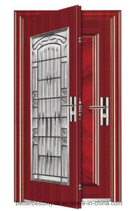 Best Price Customized Single Door Security Steel Door pictures & photos