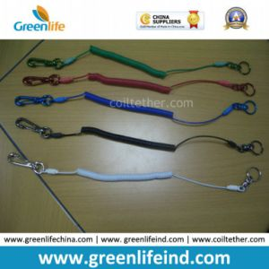 Custom Different Colors Sainless Steel Wire Coil Tool Lanyard Holders
