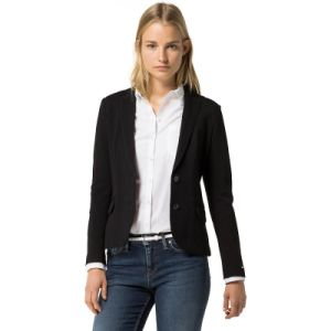 China Fancy Two Button Morden Fit Black Suit Blazer For Women