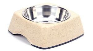 237g Cat/Dog Feeders, Round Bamboo Pet Bowls pictures & photos