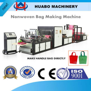 Five-in-One Non Woven Fabric Loop Handle Bag Making Machine pictures & photos