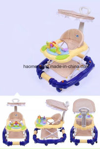 Foldable Simple Baby Walker with Sunshade pictures & photos