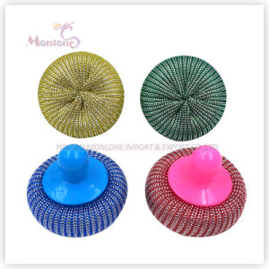 Kitchen Cleaning Tool, Pot Scrubber, Mesh Scourer for Non-Stick Pan pictures & photos