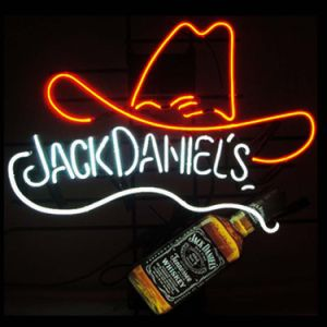 China Neon Signs Jack Daniels Bottle and Hat Beer Bar Pub Store ...