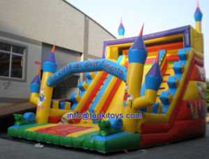 Giant Inflatable Castle with Certificate for Sale (B038)