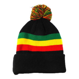 Black Knitted Women Winter Hat pictures & photos