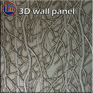 Zhihua 3D Embossed Interior Decorative MDF Wall Panel Il03 pictures & photos