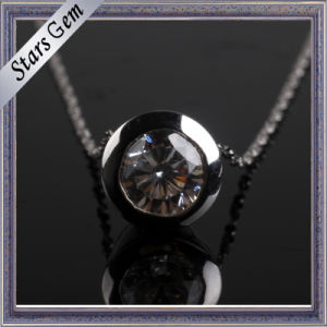Exquisite Round Bezel Setting CZ Jewellery Pendant pictures & photos
