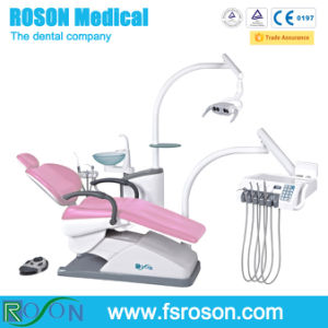 colorful Ce Marked Dental Unit with Three Memory Function