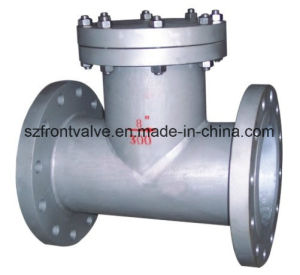 Cast Steel Flanged End T-Strainer (Tee type strainer) pictures & photos