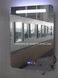 Custom Frameless LED Lighted Mirror for Five Star Hotel