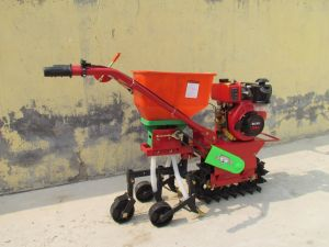 China Newest Hand Push Corn Peanut Maize Planter Machine Seeder